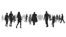 —Pngtree—silhouette crowd_574519