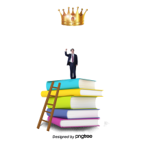 —Pngtree—successful people on the books_808138
