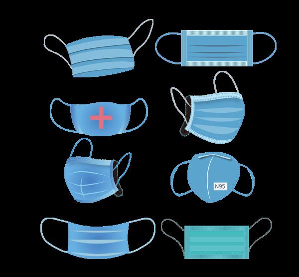 —Pngtree—blue medical mask hand drawn_5325179